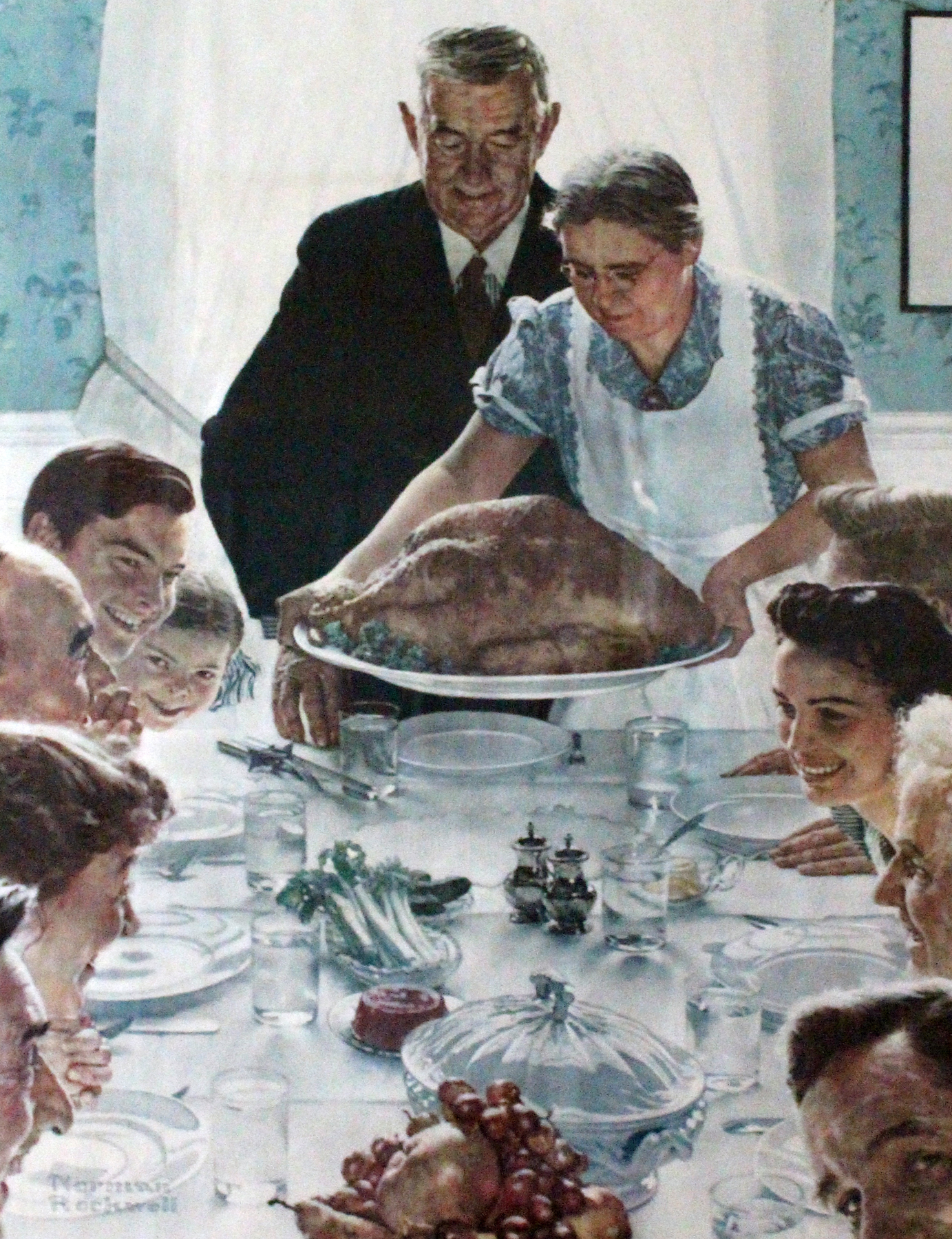 Before The Shot Norman Rockwell