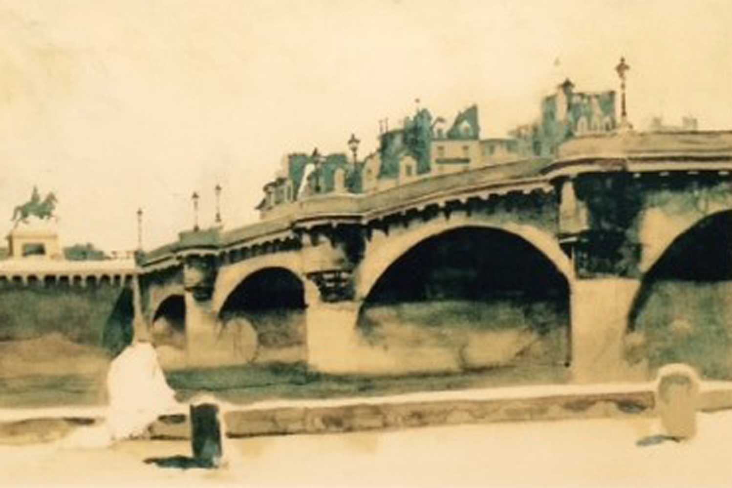 Paris Bridge 1932 HS