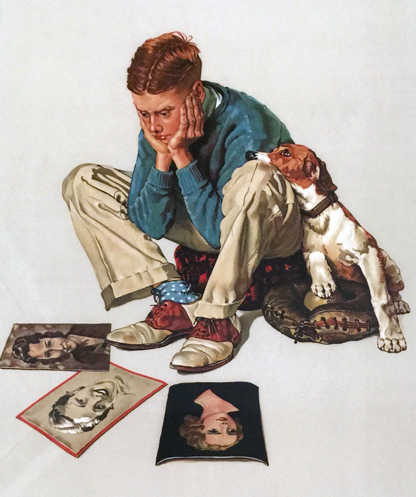 Starstruck 1976 by Norman Rockwell