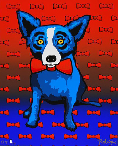 Blue Dog Does the Red Tie PP 2000