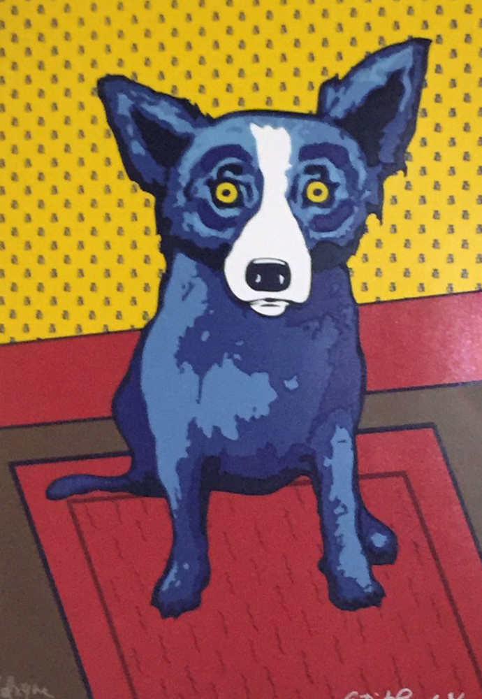 Blue Dog George Rodrigue Art for Sale