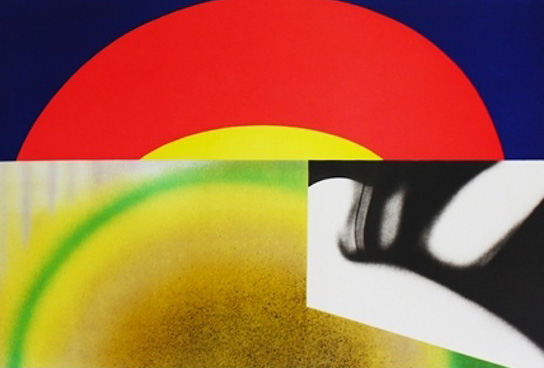 Brighter Than the Sun 1972 by James Rosenquist
