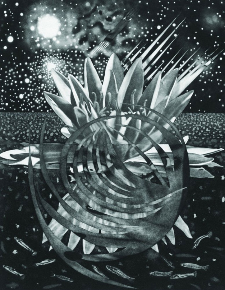 Welcome to the Water Planet 1987 77x60 by James Rosenquist