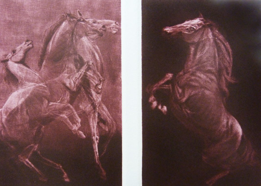 Competitors Diptych 1980