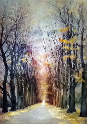 Angel's Road 1977 48x36