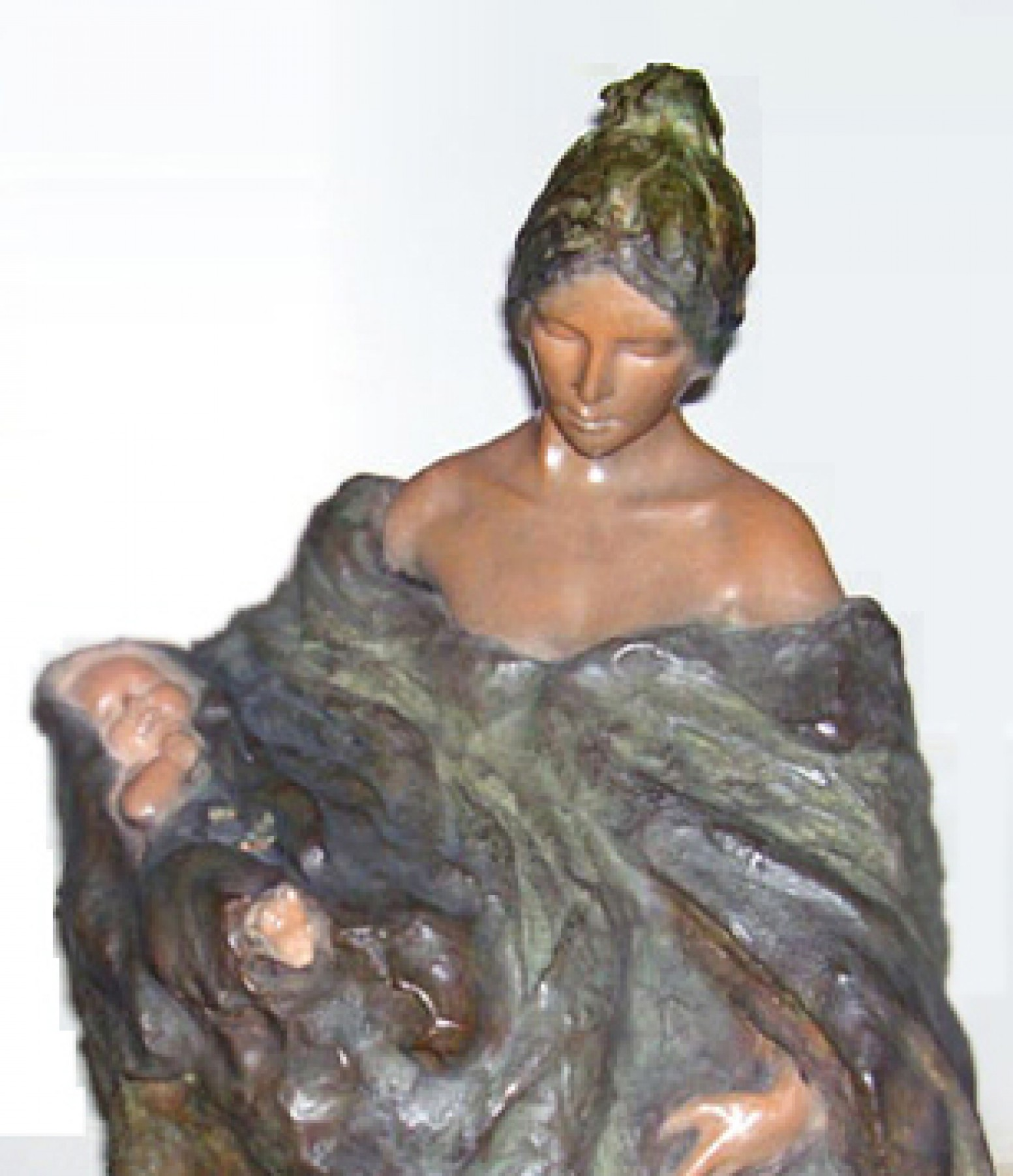 Genesis Bronze Sculpture 24 in