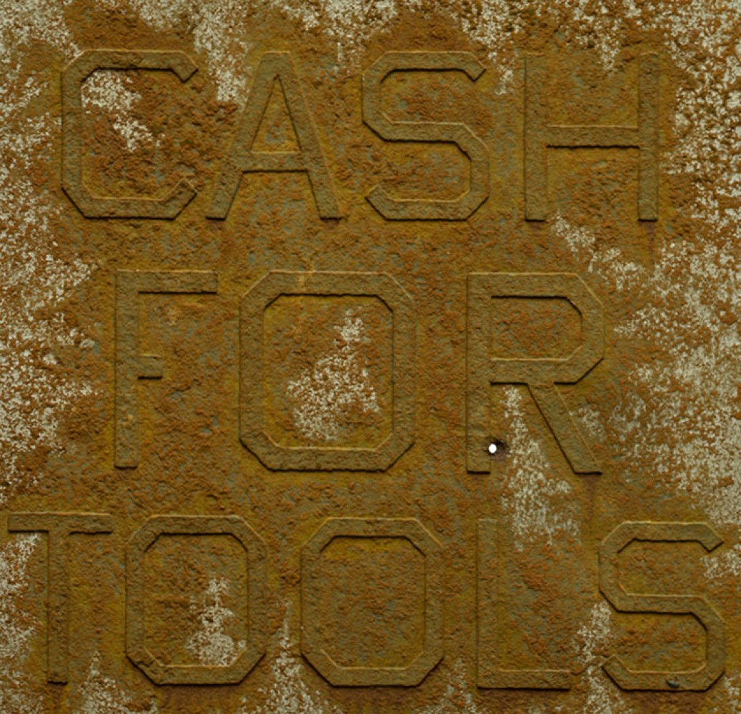 Cash For Tools #2, From Rusty Signs 2014 by Edward Ruscha