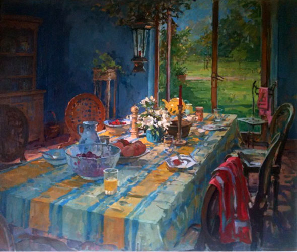 Breakfast Room 2001 35x41