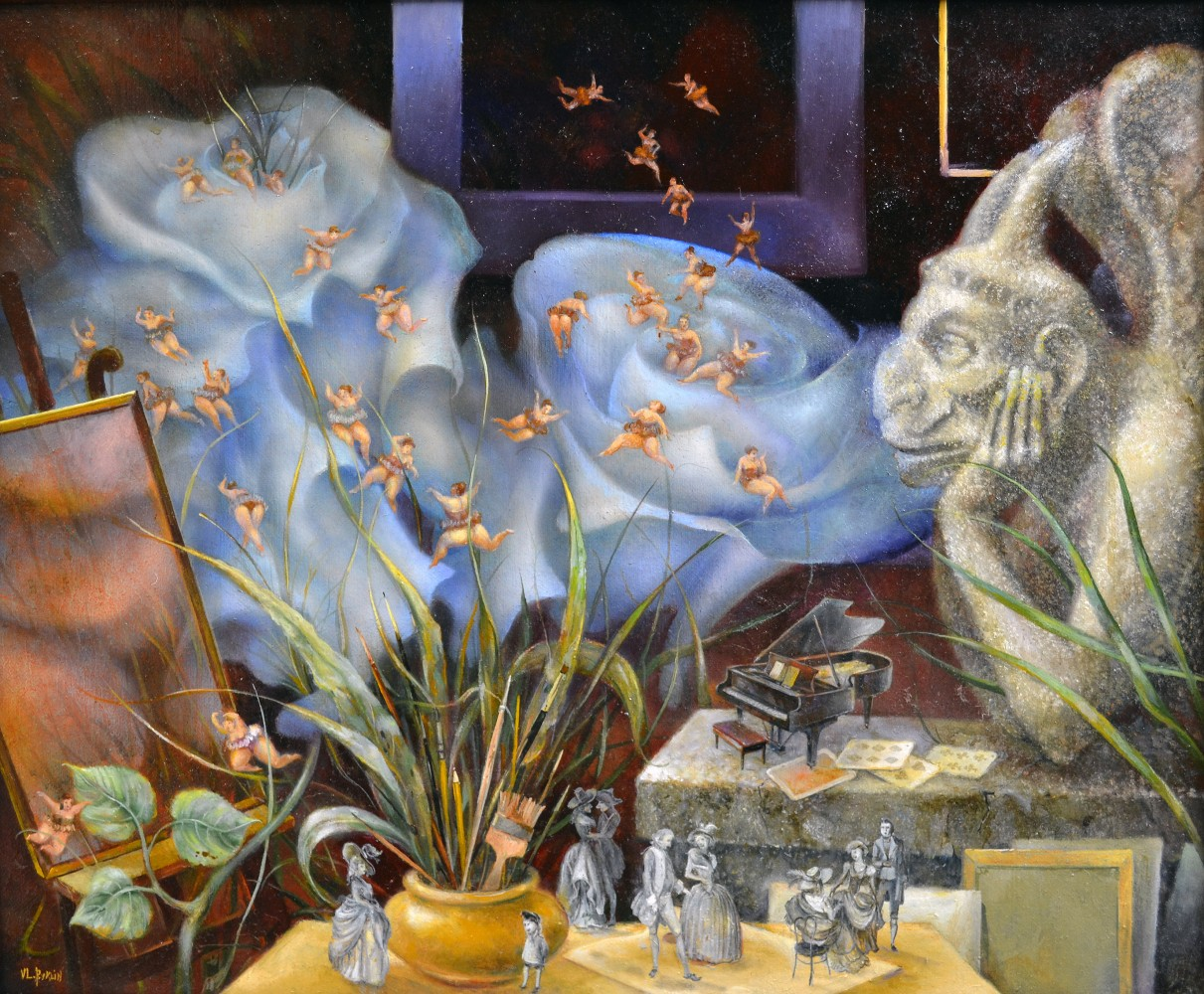 Gargoyle's Dream 2001 22x26