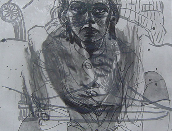 Untitled Etching 1986