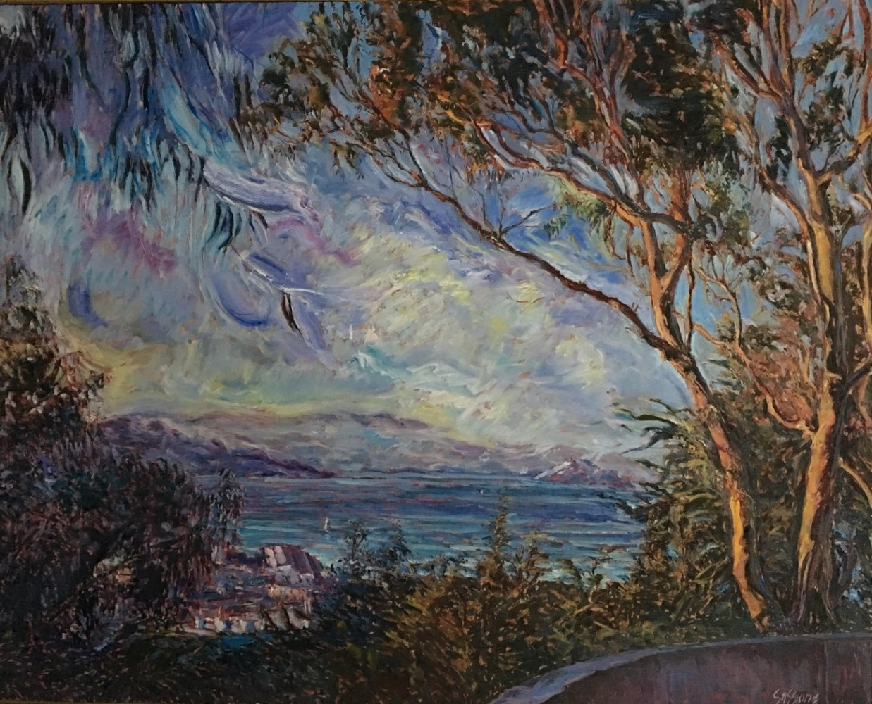 View From Coit Tower II 1985 50x62