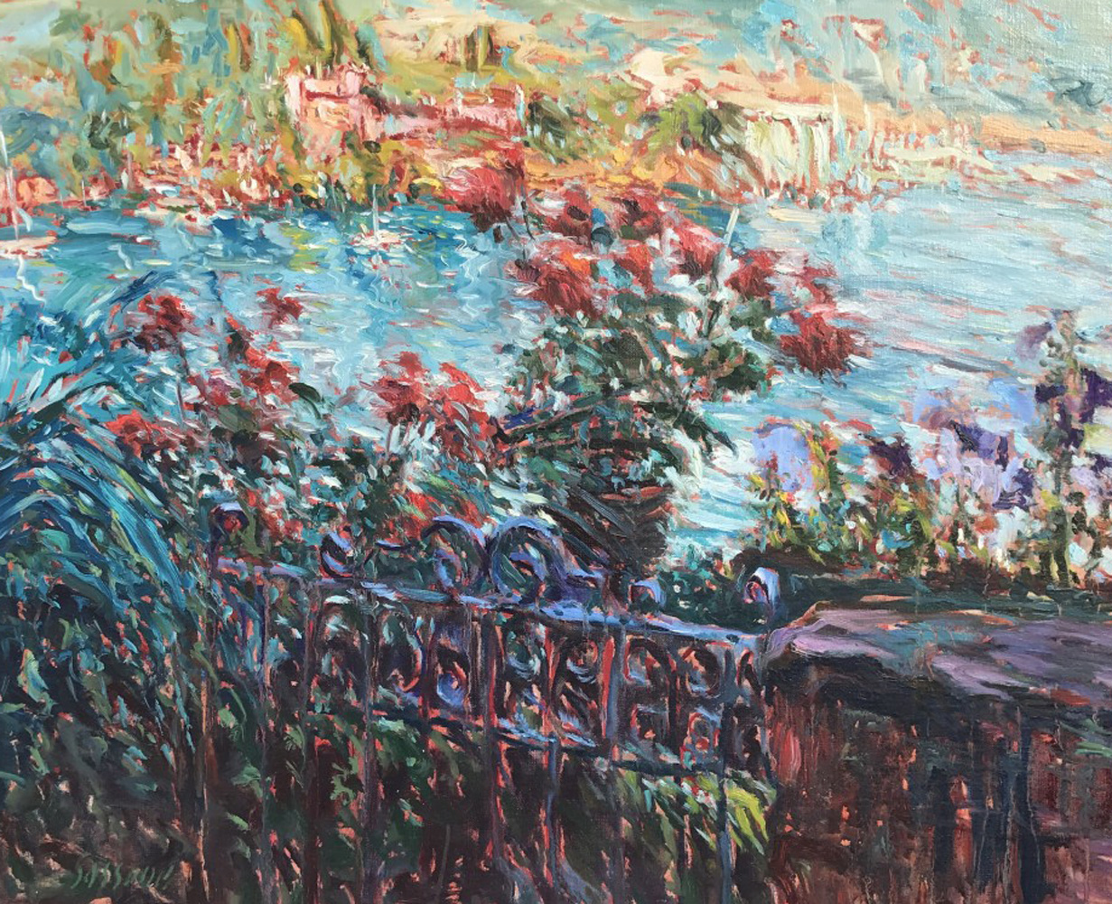 Tiburon Terrace 32x27 California