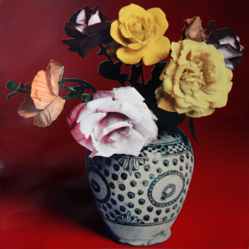 Flower Arrangement (Red) 1987
