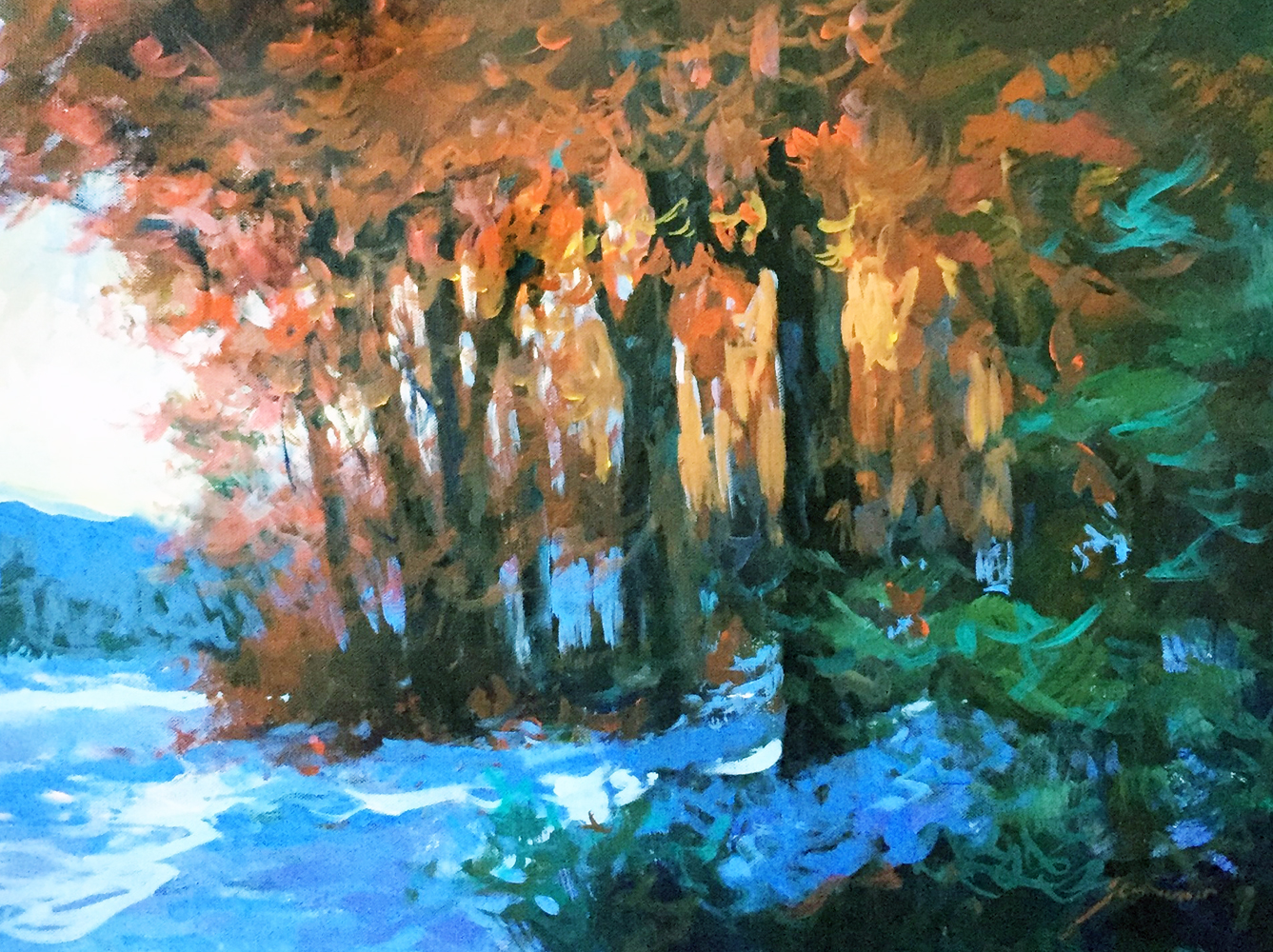 Last Days on the Mountain 25x19