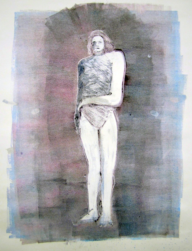 Mystery Woman Series, #2 Monotype 1990 41x30