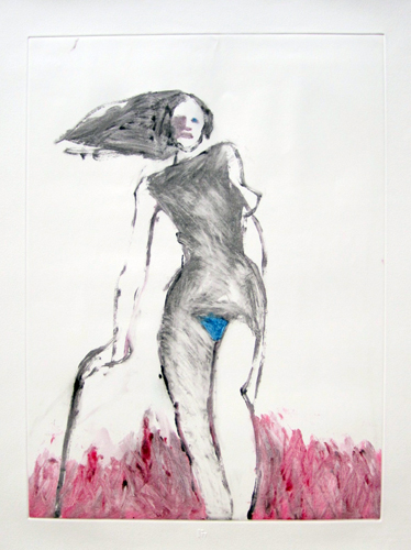 Mystery Woman 1 Monotype 1992 30x22