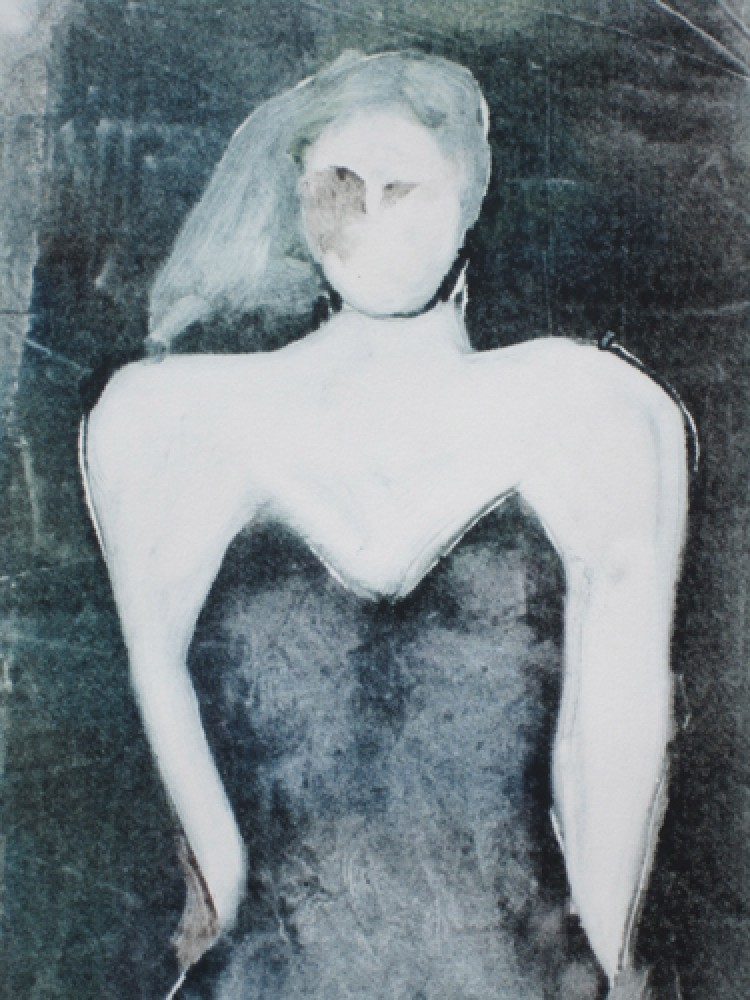 Mystery Woman Series, #4 Monotype 1990 30x22