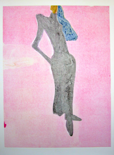 Mystery Woman Series, #5 Monotype 1986 41x31