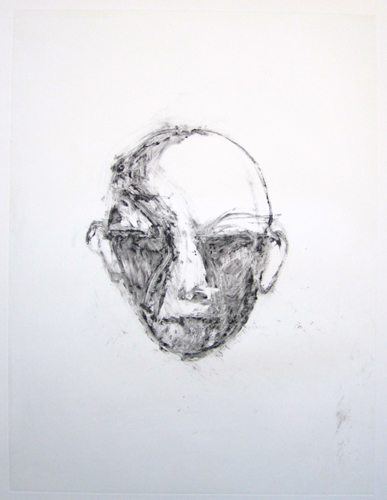 Face #1 (Face Series) Monotype 1985 40x30