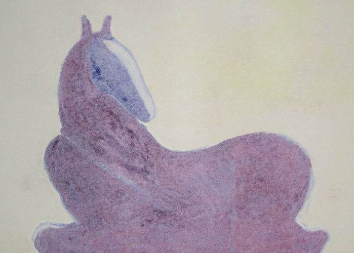 Dream Horse Series, #2  Monotype 1986 30x41