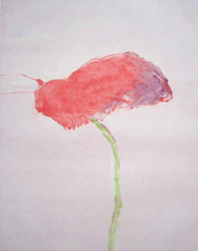 Flower Series, #1 1982 Monotype 40x30