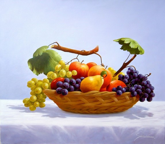 Fruit Basket 2010 by Heinz Scholnhammer