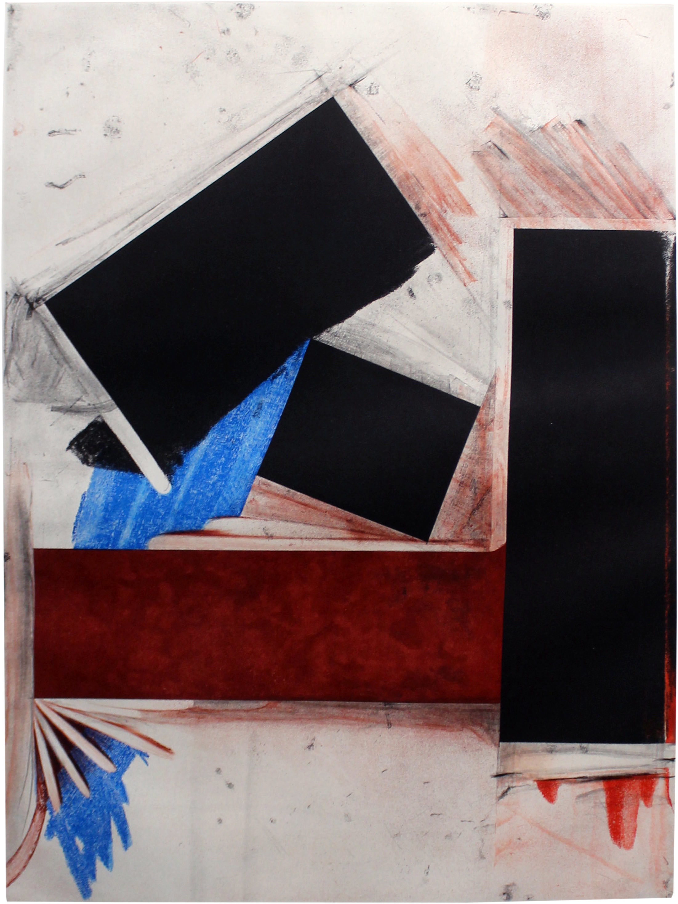 Untitled (Red Square/with Blue) 1992