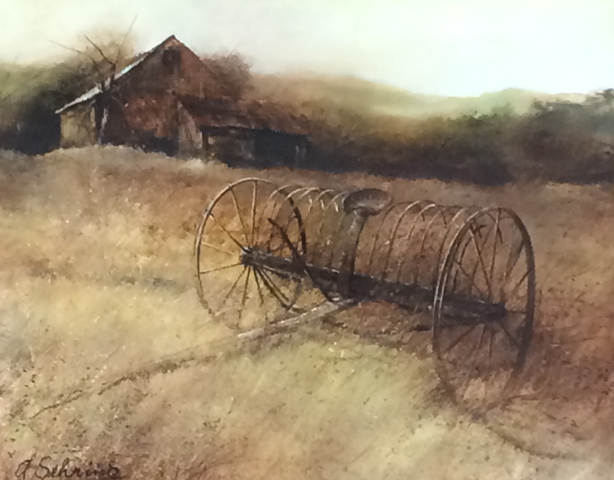 Hayrack 30x36 by Adolf Sehring