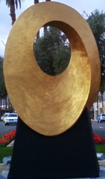 Infinite Sun Resin and Glass Sculpture - Monumental