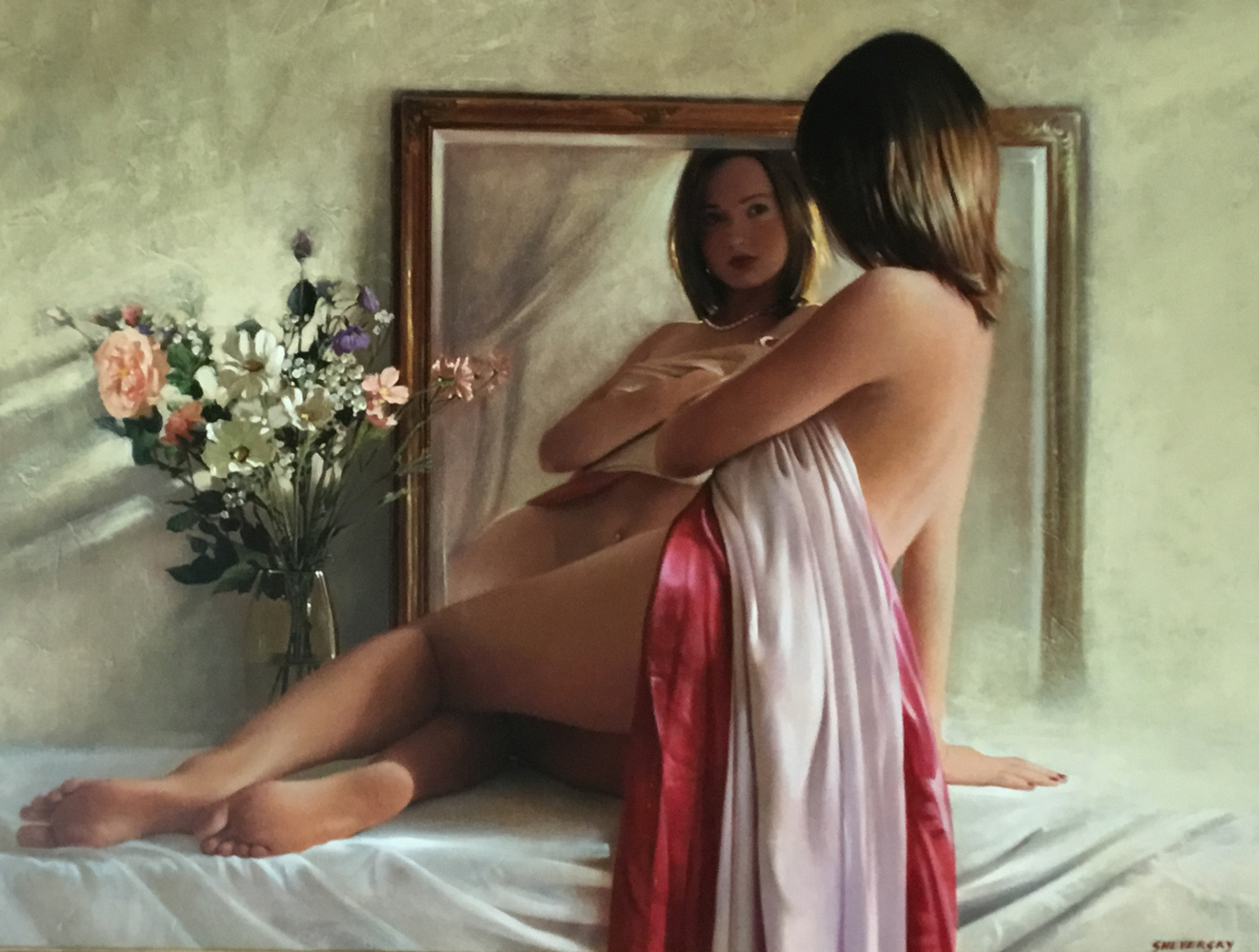 Nude and Mirror No. 4 2006 31x41