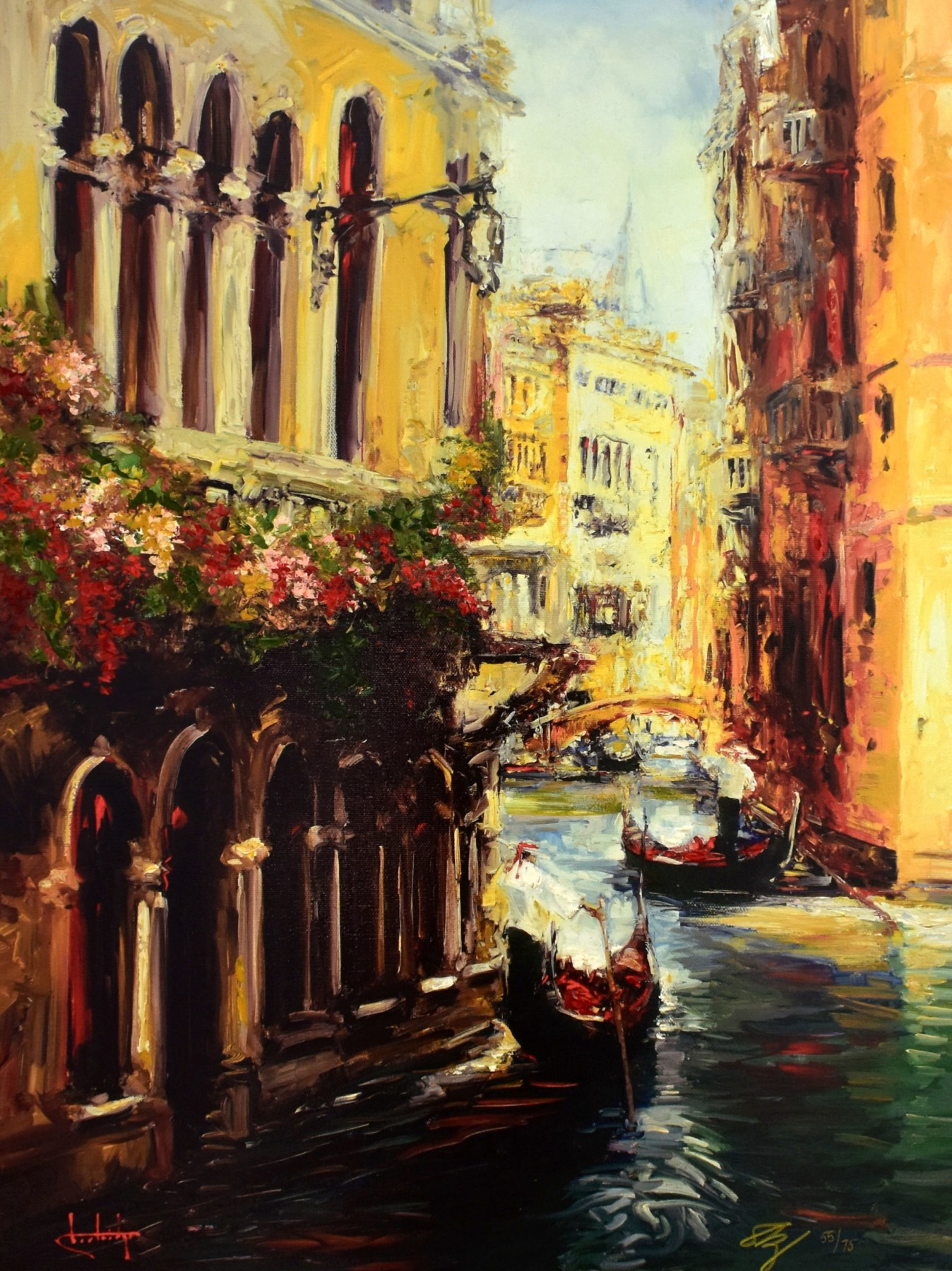 Streets of Venice 2007 Embellished