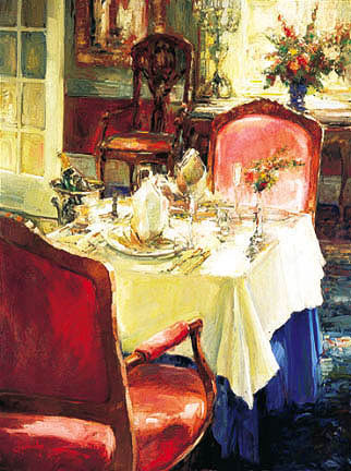 Table For Two Embellished 2002
