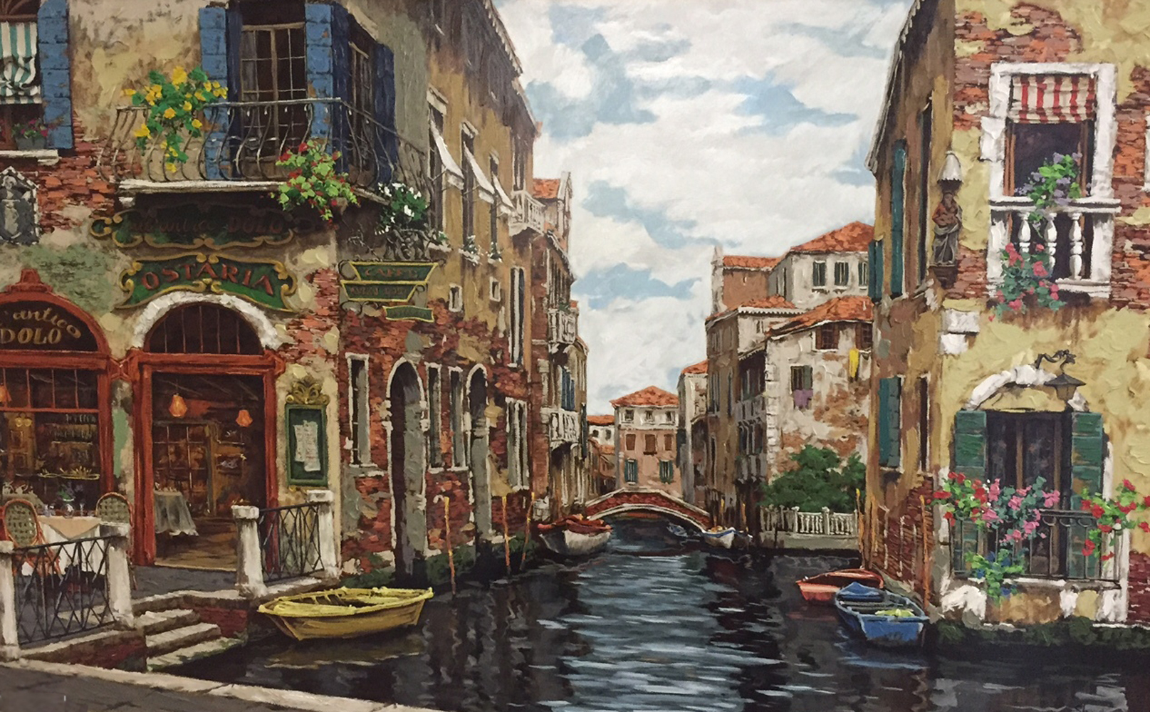 Dreams of Venice 2001 38x58