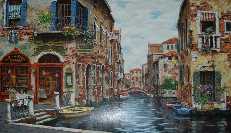 Dreams of Venice 2001 30x50