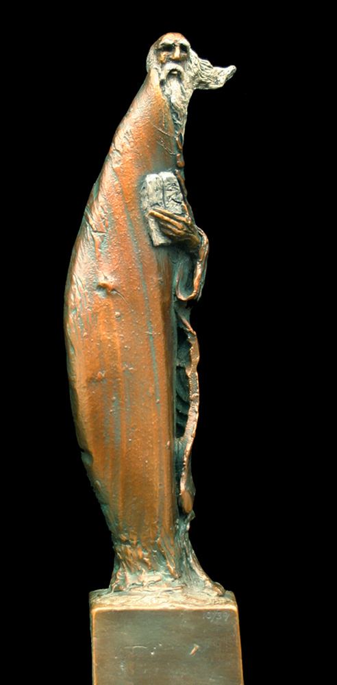 Moses Bronze Sculpture 17 in