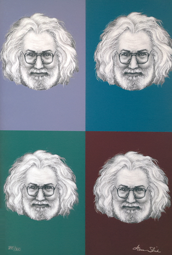 4 Color Garcia (Grateful Dead)
