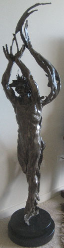 Angstrom Bronze Sculpture 2006 72 in