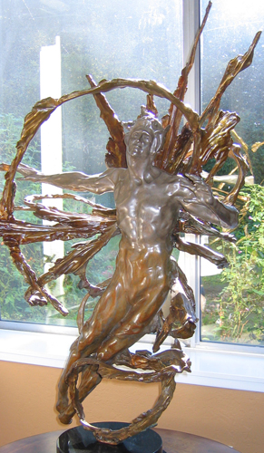 Solaris Bronze Sculpture 2006 39 in