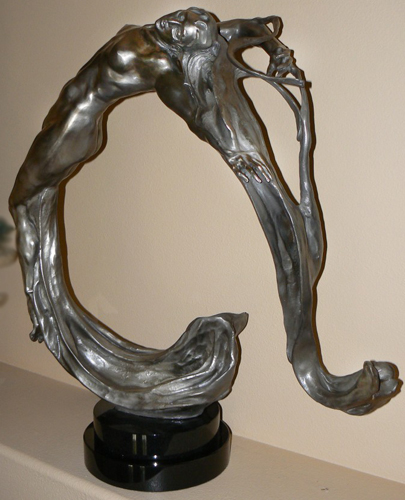 Lightwave Bronze Sculpture 2008 37 in