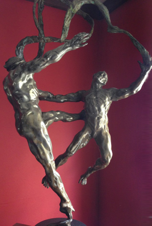 Stasis Bronze Sculpture 51 in