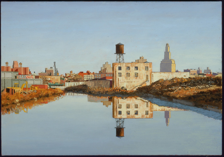 Gowanus Morning 2003 14x24