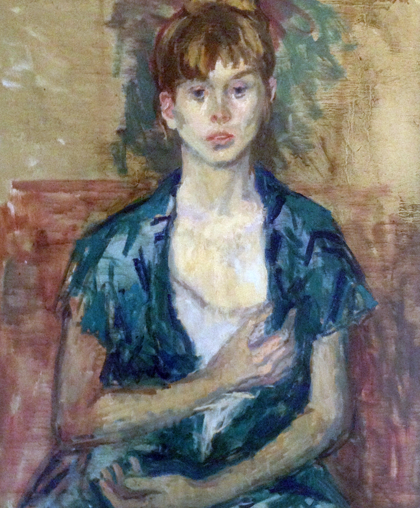 Girl in Green 1960 34x26