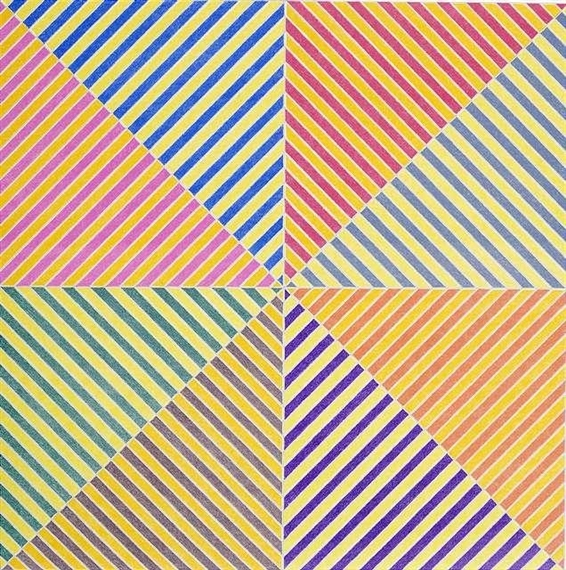 Sidi Ifni (From the Hommage a Picasso Portfolio) by Frank Stella