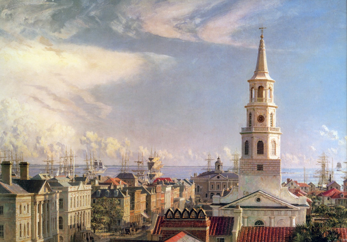 Charleston Over the Rooftops in 1870