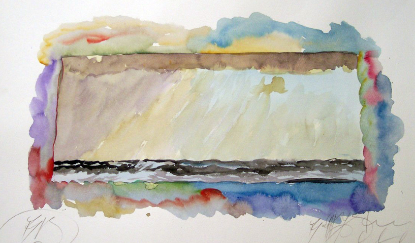 Lyric Winds Watercolor 1970