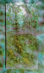 Emerald Rain Forest PP 1990 52x36 by Brett Livingstone Strong