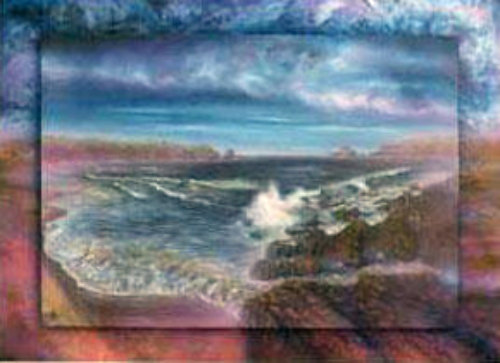 Surreal Sea 1990 by Brett Livingstone Strong