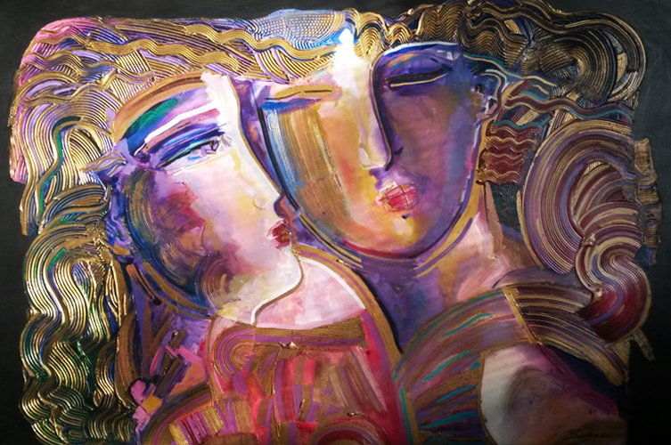 Young Love 1994 48x60