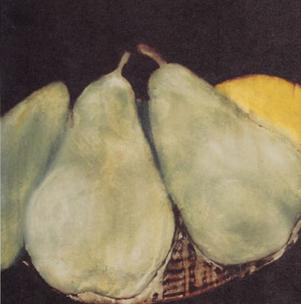 Still Life With Pears: March 28th, 1988