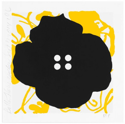 Button Flowers Yellow 2014